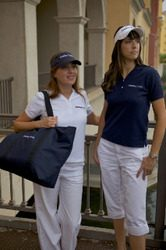 Ladies V-Neck Polo-0