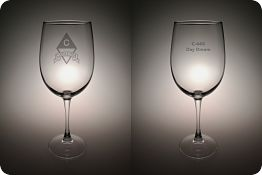 Glassware - Wine Glass - Personalized item-0