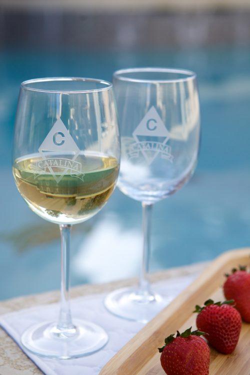 Glassware - Wine Glass - Personalized item-603
