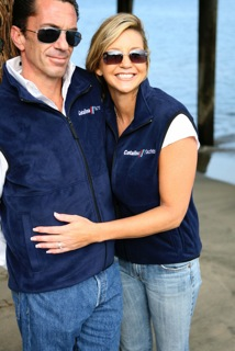 Fleece Vest Navy