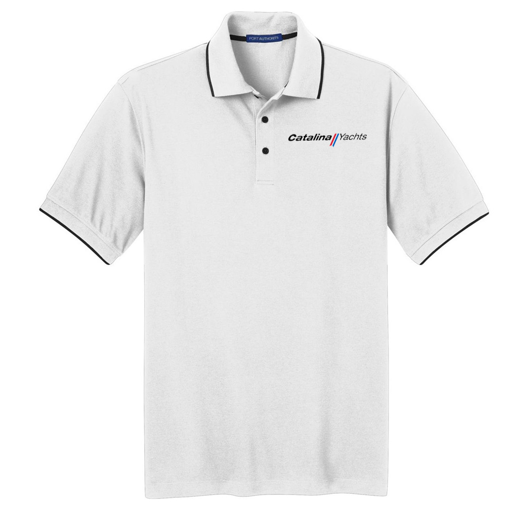 fd23fec83c4 Men s Rapid Dry Tipped Polo – Catalina Yachts Store