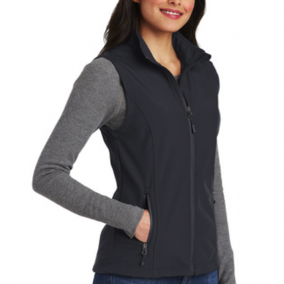 Soft Shell Vest Battleship Gray