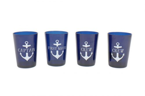 Captain/First Mate/Crew Drinkware Set-0