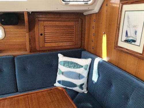 Interior Fabric Cushions - 36 MKII Dinette-0