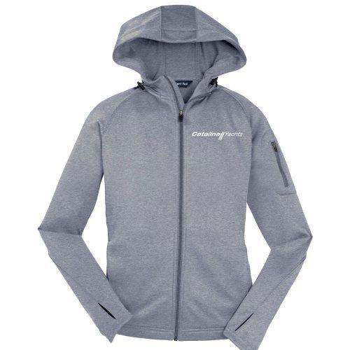 Line Drawing Zip : Line drawing ladies full zip hooded jacket catalina
