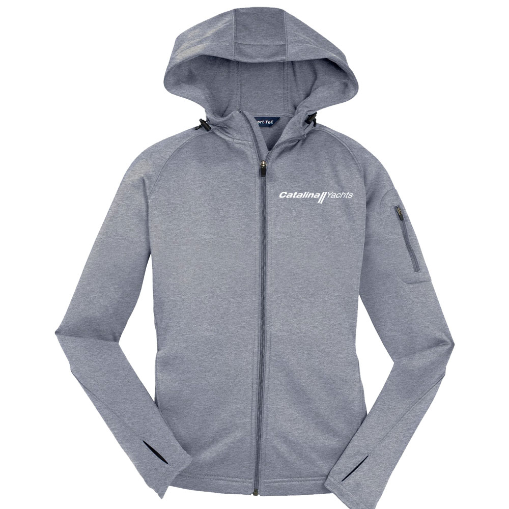 Drawing Smooth Lines Zip : Line drawing ladies full zip hooded jacket catalina