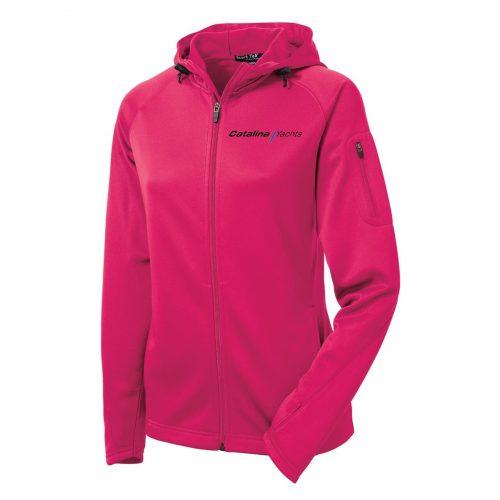 Ladies Tech Fleece Full-Zip Hooded Jacket-0