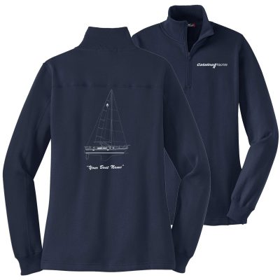 Ladies Sport-Tek® 1/4-Zip Sweatshirt-0