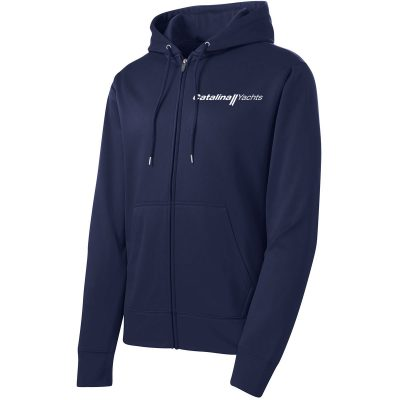 Mens Sport-Wick® Fleece Full-Zip Hooded Jacket-0