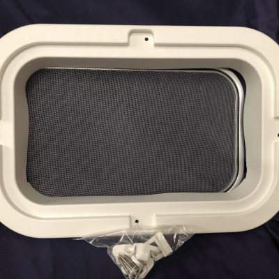 White Trim Kit With Screen